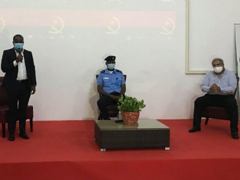 Pólo Industrial De Viana e Comando Municipal da Polícia Nacional apresentam estratégias de segurança