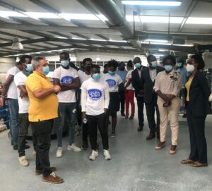 Candidatos do Luanda Gentes e Músicas visitam empresas no PDIV