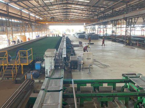 Fabrimetal exporta aço para quatro países africanos